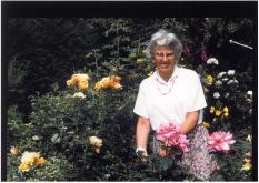 Mary gardening